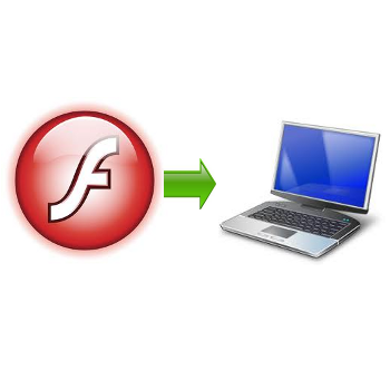 save flash from site to pc